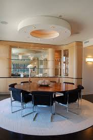 48 round dining table dining room contemporary with built ins candles candlesticks image by b w interiors chicago