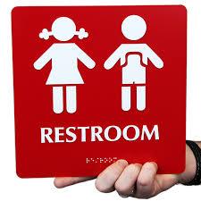 school bathrooms signs. Restroom Boys Girls Pictogram Signs School Bathrooms C