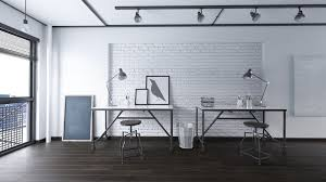 white office interior. Black And White Office Design. Gray Are Making A Comeback In The Interior -