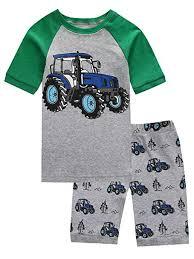 Pajamas <b>Set</b> for Boys Kids Short Pjs <b>Baby Summer Cotton</b> Sleepwears