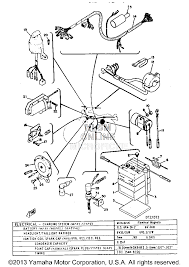 ignition switch wiring diagram 1973 dt3 yamaha motorcycle all 1970 Yamaha DT1 250 Enduro at Yamaha 1973 Dt3 250 Wiring Diagram