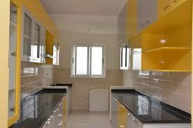 parallel modular kitchen designs in bangalore kitchen by scale inch pvt ltd
