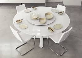 great round white dining table concerning white round dining table modern prepare