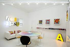 advertising office interior design. Comics Are Used Throughout The Studio As A Reference To Role POP Culture Played In America Evolution Of Applied Art And Advertising. Advertising Office Interior Design