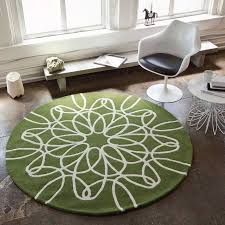 image of cute contemporary round rugs