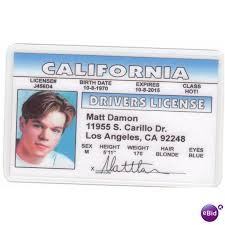 Nifty License Photo 64188977 On Drivers Matt Novelty Collectible Ebid Card United Damon States