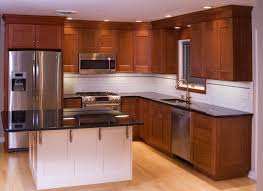 Delighful Painting Cherry Kitchen Cabinets White Best Ideas To Inspiration