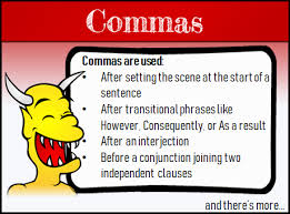 Using Commas Grammar And Punctuation