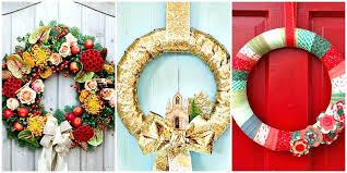 easy to make christmas wreaths easy homemade christmas wreath ideas