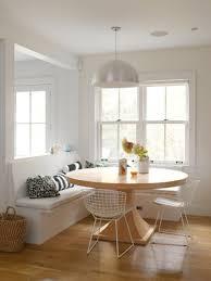 home design now white breakfast nook kitchen roomdesign round table decor modern from white breakfast