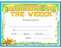 Star Student Certificates Star Student Award Printable Magdalene Project Org