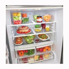 Pc Richards Kitchen Appliances Lg 216 Cu Ft French Door Refrigerator Stainless Steel