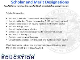 Merit Designation Ppt Student Progression 2014 Proposed Legislation And