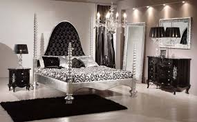 black and silver bedroom furniture. furniture fabulous silver bedroom black carpet tufted headboard luxurious for and o