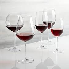 bordeaux wine glass reviews crate and barrel
