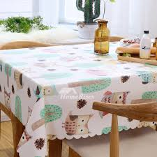 pictures show colorful decorative table cloth