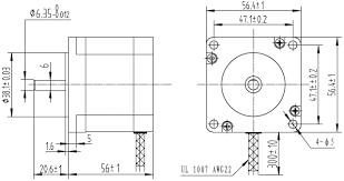 pololu stepper motor unipolar bipolar, 200 steps rev, 57�56mm 5 wire stepper motor pinout at Nema 23 Stepper Motor Wiring Diagram