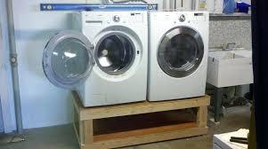 build washer dryer pedestal that diy washer dryer pedestal with drawers plans