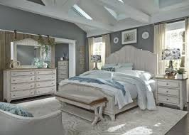 Farmhouse Reimagined Antique White Panel Bedroom Set - 1StopBedrooms.