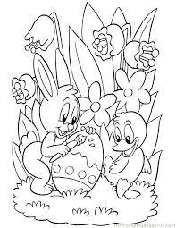 Easter Coloring Pages To Print Out Easter Bunny Face Coloring Pages