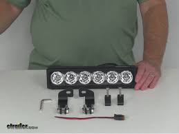 compare wiring harness vs vision x xmitter com video of vision x xmitter prime iris off road light bar led 30 watts 11 long