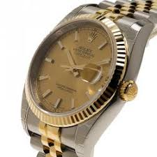 rolex watches men buy sell new pre owned watches lc rolex champagne stainless steel and 18k yellow gold datejust