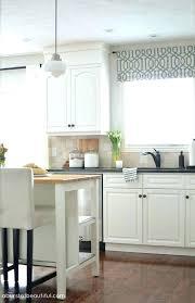 Kitchen Cabinet Valance Designs