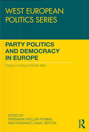 party politics and democracy in europe essays in honour of peter files in this item