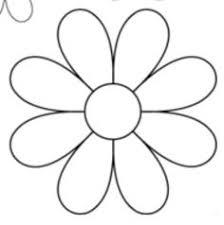 flower printable pictures. Delighful Flower Daisy With Flower Printable Pictures P