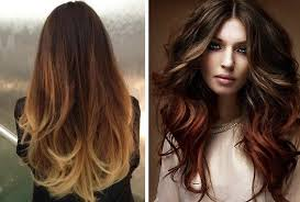 Flamboyage / Ombre highlights by Diana | hairstyles | Pinterest | Ombre  highlights, Ombre and  ombre hair color technique ...