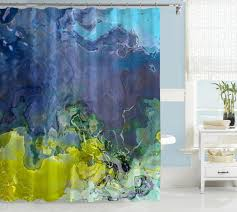 purple blue and green shower curtain intended for abstract art lime navy inspirations curtains home decor renovation ideas red black lined brown check