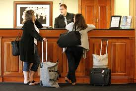 mobile check ins at hotels hotel front desk check in