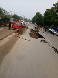 An earthquake of magnitude 5.8 hit jammu and kashmir in the early hou. In Pictures Strong Earthquake Wreaks Havoc In Mirpur Azad Kashmir Pakistan Dunya News