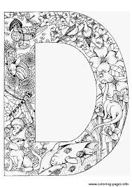 Small Picture animal alphabet letter d Coloring pages Printable