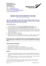 Cv Resume Template Nz Cv In New Zealand Format Immigration3
