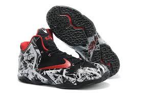 lebron mens shoes. lebron 11 graffiti men shoes black white red cheap lebrons mens o