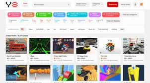 Estos títulos incluyen juegos de navegador tanto para ordenador como para dispositivos móviles, además de aplicaciones de juegos para tus teléfonos y los mejores juegos de 2 jugadores en toda la red. Y8com