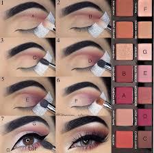 description step by step pictorial makeup