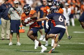 Denver Qb Depth Chart Denver Broncos Running Back Depth Chart Is Beginning To