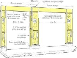 garage door opener foot 9 header size luxury seal get tall