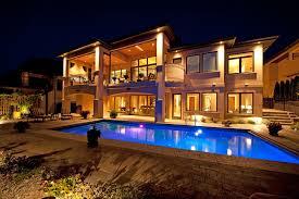 home swimming pools at night. Aqua Pearl Pools Night House Villa Swimming Pool Home At M