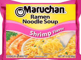shrimp flavor top ramen dry nutrition