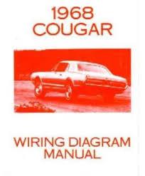mercury cougar wiring diagram wiring diagram and schematic 1968 mercury cougar and xr7 wiring diagram original