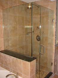 Open Shower Bathroom Amazing Bathrooms Open Showers Small Bathroom Decorating Ideas On