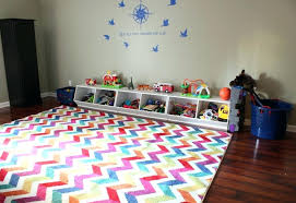 playroom rugs chevron