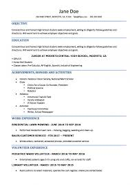 003 Resume Template High School Student Ideas Imposing For With No