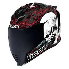 Revzilla Helmet Size Chart Icon Airflite Skull18 Helmet
