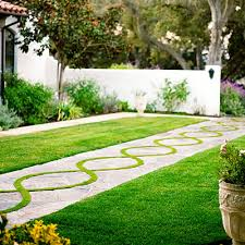 Small Picture 6 Modern Garden Art Designs Flagstone walkway Bermuda grass and