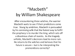 macbeth quotes about ambition