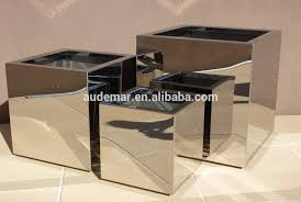 Decorative Planter Boxes 100100mm Thickness Decorative Stainless Steel 100 Polished Indoor 55